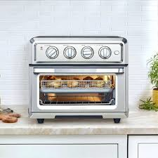 cuisinart oven central countertop oven air fryer toaster oven cuisinart oven central countertop oven in brushed