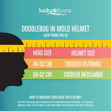 Lucky Bums Ski Helmet Size Chart Lucky Bums Doodlebug Toddler Kids Ski And Snowboard Helmet
