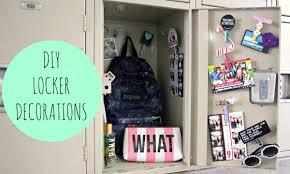 diy locker decorations for back to school
