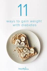 A Diet Chart For Gaining Weight How To Gain Weight With Diabetes 11 Tips