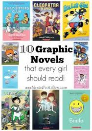 mom to 2 posh lil divas 10 graphic novels for s years old find this pin and more on must read children s books
