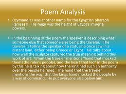 "percy bysshe shelley ""ozymandias"" ppt video online  10 poem analysis ozymandias"