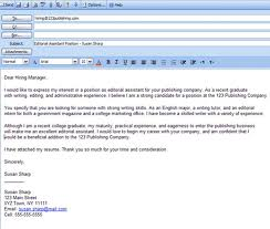 Job Application Email Attached Cover Letter Job Cover Letter Via