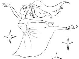 Coloring Pages Barbie Ballet Coloring Pages Barbie Ballerina