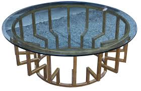 ... New York Round Modern Coffee Table ...