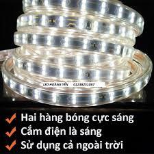 Giá bán ĐÈN LED DÂY ĐÔI 2835 5M tặng kèm 1 dây nguồn tốt