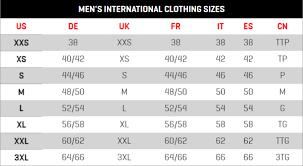 Puma Size Chart Football Shirt Puma Size Charts