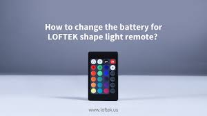 Capstone Lighting Remote Change Battery How To Change The Battery For Loftek Shape Light Remote