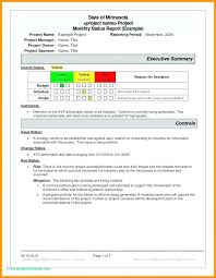 Report Cover Page Delectable One Page Project Status Report Template Word Reporting Nerdcredco