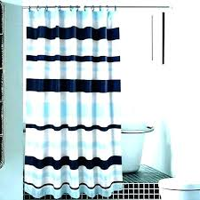 navy and white striped shower curtain curtains horizontal transitional
