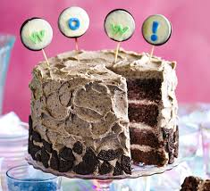 cookies cream party cake