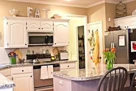 Above Kitchen Cabinet Decorations Awesome Design