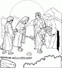 Easter Coloring Pages For Sunday School Coloring Home