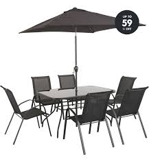 Buy Kara 2 Seater Garden Bistro Set  Black At Argoscouk Visit Argos Outdoor Furniture Sets