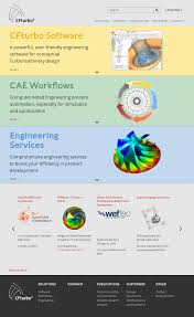 Turbomachinery Design Software Cfturbo Software Engineering Competitors Revenue And