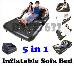 inflatable furniture. Bestway 5 In 1 Inflatable Double Sofa Bed Mattress Seat W/Pump Furniture