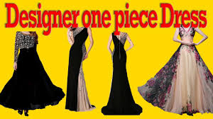 How To Make Fashion Design Dress How To Make One Piece Designer Dress Party Wear Dress Cutting And Stitching