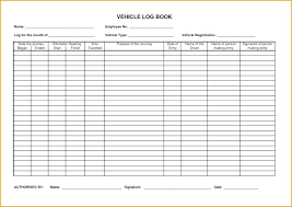 Free Driver Daily Log Sheet Template Nanny Templates Sample