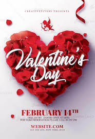 Valentines Flyers Valentines Day Flyer Template