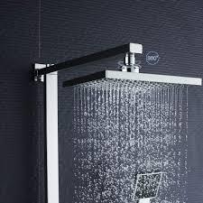 Auralum Duschsystem Duschset Duscharmatur überkopfbrause Regendusche Handbrause Regenbrause Kupfer
