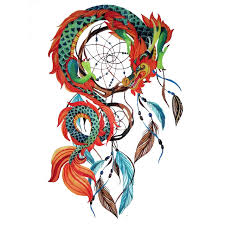 Cool Dream Catcher Tattoos 100 New Arrival Chinese Dragon Dream Catcher DreamCatcher Tattoo 57
