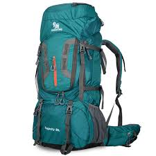 50 L Quality Nylon Waterproof <b>Backpack Outdoor</b> Men's <b>Hiking Bag</b> ...