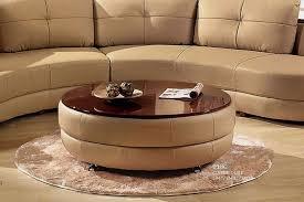 restoring a round coffee table ottoman cape atlantic decor