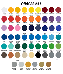 Oracal Vinyl Color Chart Pdf 35 Reasonable Oracal 651 Color Chart Pdf