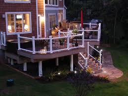 Outdoor Deck Lighting Ideas Garden Ideas Solar Deck Lighting Some Tips To Get The Best