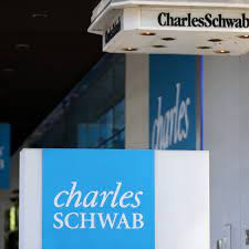 Charles Schwab expects charge of least ...