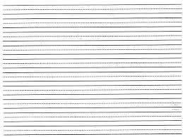 Kindergarten Lined Paper Template Printable Lined Paper Template For Kindergarten Download Them Or Print