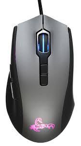 Купить <b>Мышь</b> ОКЛИК <b>985G SCORPION</b>, проводная, USB, черный ...