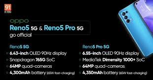 OPPO Reno5, Reno5 Pro 5G launched ...