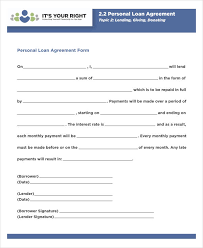 A loan agreement is important whether a person is lending a loan. Free 35 Loan Agreement Forms In Pdf