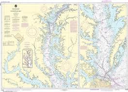 Noaa Nautical Chart 12280 Chesapeake Bay