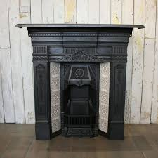 original antique victorian cast iron fireplace with tiles at thearchitecturalforum com browse our huge selection or in fireplaces