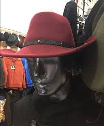Шляпа ковбойская шерстяная новая. Вишневая, Санкт ...
