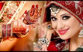 indian bridal makeup with heavy jewelry 9