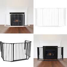 safetots multi panel fire surround premium baby fire guard large fireguard