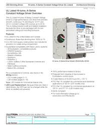 hi lume a series constant voltage ul listed led dimming driver lutron la series 24v 40 watt dimming driver