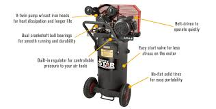 shipping northstar single stage portable electric air features for shipping northstar single stage portable electric air compressor 2 hp
