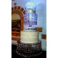 wedding crystal chandelier cake stand crystal chandelier cascade dome wedding cake stand