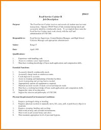 Resume For Cashier Job 100 retail resume examples 100 sephora resume 59