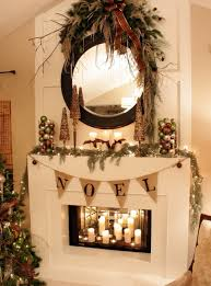 view in gallery candles inside the fireplace make for a gorgeous visual