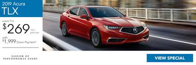lease a 2019 acura tlx tech for 269 36mo with 1 999 down