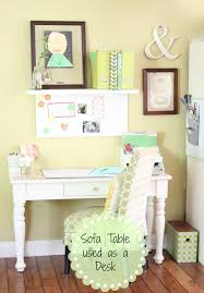 Kitchen Desk Golden Boys And Me Kitchen Desk Repurposed Console Table