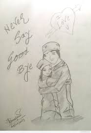 Pencil Sketches Of Couples Couple Drawing Sketch At Getdrawings Com Free For Personal