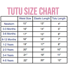 Tutu Measurement Chart Diy No Sew Tutu Life Of A Mama Bear