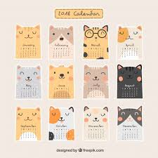 Calendar Free Downloads Beautiful 2018 Calendar Vector Free Download
