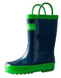 Oakiwear Rain Boots Size Chart Oakiwear Kids Rubber Boots